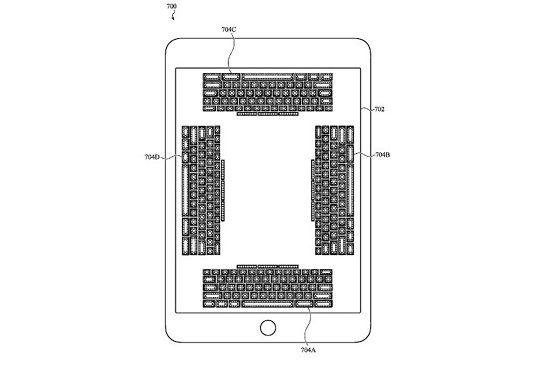tastiera sensibile apple